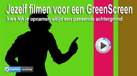 werken met greenscreen