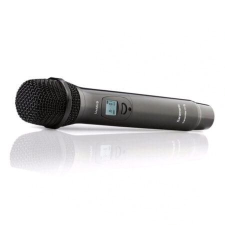 Hand microfoon interviews
