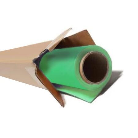 groene papieren rol
